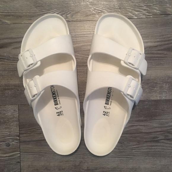 Birkenstock Shoes   Mens All White